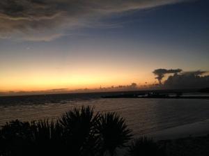 beautiful dawn at bira