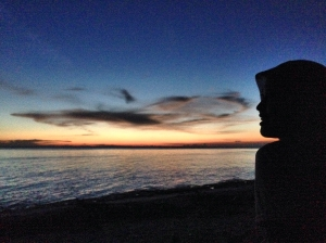 sunset di Pantai Lemo-Lemo, Bira.