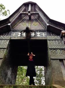 Gerbang masuk ke Londa
