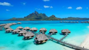 ini bukan Pantai Ora, ini Bora-bora di French Polynesia!!