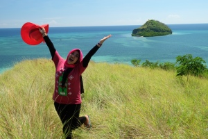 View from Pulau Ruton