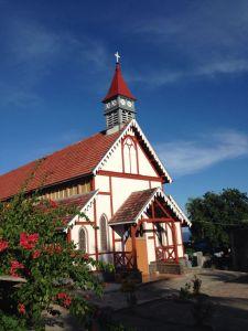 Gereja Sikka, tertua di Flores. taken by dedika marlon.