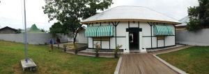 Panorama view of Bung Karno's exile home.
