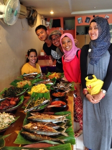 our last lunch at ambon