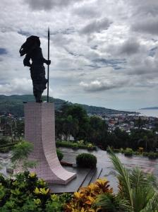 Martha Christina Tiahahu Statue..