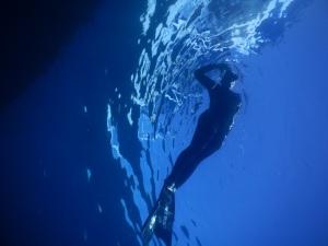 Foto freedive yang yah cukup bagus lah ya :p