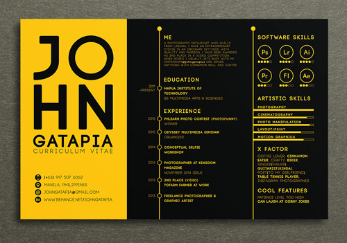 graphic-design-resume-examples-creative-and-simple-resume-design-template-for-artist